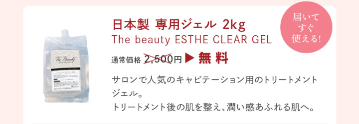 日本製専用ジェル2kg